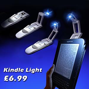 kindle light on kindle book