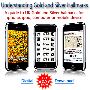 buy a silver hallmarks guide to british gold and silver.