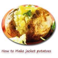 how to make a jacket potato