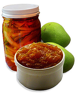easy recipes mango chutney