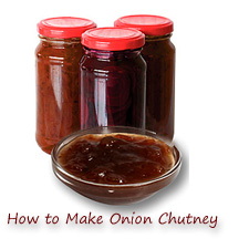 how to make onion chutney