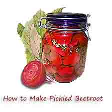 how to make pickled beetroot