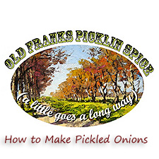 make pickled onions