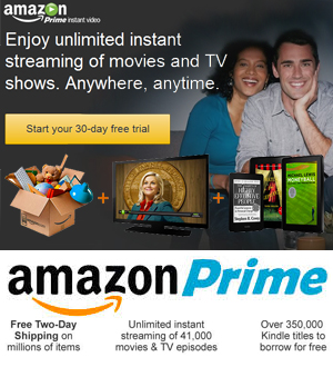 join amazon prime FREE 30 day trial