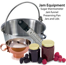 jam equipment needed to make jam